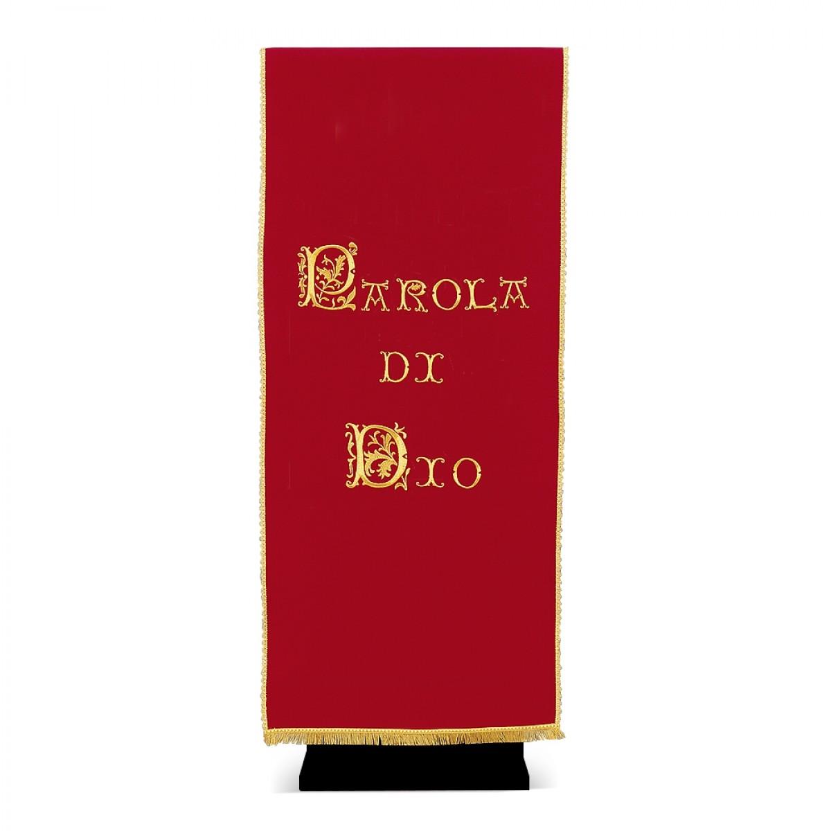 Coprileggio in poliestere, dis. 66 PAROLA
